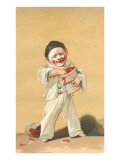 Baby Clown with Jam Jar Prints