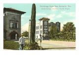 Greetings from San Antonio, Texas, Saguaro Prints