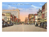 Market Street, Chattanooga, Tennessee Prints