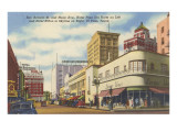 San Antonio Street, El Paso, Texas Poster