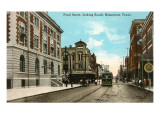 Pearl Street, Beaumont, Texas Prints