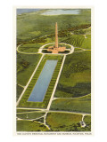 San Jacinto Monument, Houston, Texas Posters