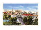 Colorado River Bridge, Austin, Texas Posters