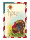 Thanksgiving Greeting, Turkey Prints