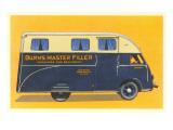 Travelling Beverage Service Van Prints