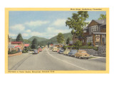 Main Street, Gatlinburg, Tennessee Poster