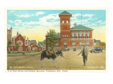 Post Office and Federal Building, Texarkana, Texas Print