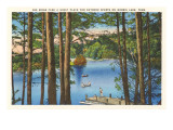 Norris Lake, Tennessee Poster