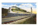 Streamlined Train, the Tennessean Prints