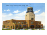 Terminal Building, Municipal Airport, El Paso, Texas Prints