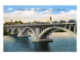 International Bridge, Laredo, Texas Print