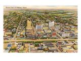 Overview of Abilene, Texas Prints