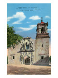 San Jose Mission, San Antonio, Texas Poster