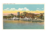 Waterfront, Memphis, Tennessee Prints