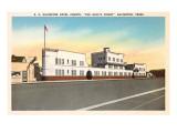 Galveston Hotel Courts, Galveston, Texas Prints