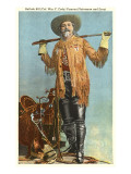 Buffalo Bill with Saddle and Rifle Posters