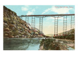 Pecos High Bridge, Texas Poster