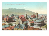 Residential District, El Paso, Texas Print