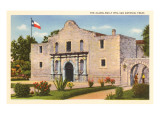 The Alamo, San Antonio, Texas Posters