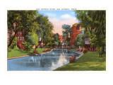 River, San Antonio, Texas Prints