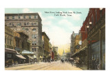 Main Street, Fort Worth, Texas Poster