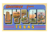 Greetings from Tyler, Texas Prints