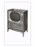 Television Set Posters