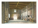 Interior, Alamo, San Antonio, Texas Prints