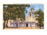 Mission San Juan de Capistrano, San Antonio, Texas Prints