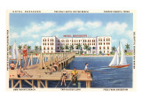 Hotel Breakers, Corpus Christi, Texas Posters