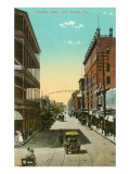 Houston Street, San Antonio, Texas Poster