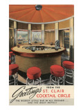Forties Cocktail Lounge Print