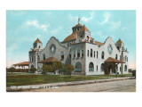 Train Depot, San Antonio, Texas Prints