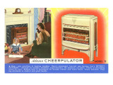 Cheerfulator Gas Heater Poster