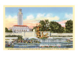 Littlefield Fountain, University of Texas, Austin Prints