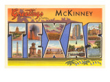 Greetings from McKinney, Texas Art