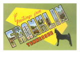 Greetings from Franklin, Tennessee Print