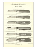 Advertisement for Pocket Knives Art