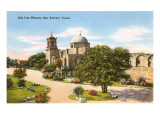 San Jose Mission, San Antonio, Texas Posters