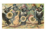 Crow Minstrel Band Art