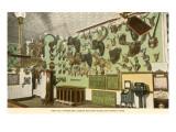 Buckhorn Curio Store with Trophy Heads, San Antonio, Texas Posters