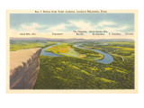 Seven States from Lookout Mountain, Tennessee Prints