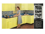 Retro Kitchen Prints