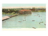 Henley Park Lake, Fort Worth, Texas Posters
