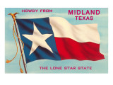 Howdy from Midland,Texas Poster