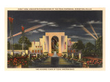 Night, Exposition Buildings, Dallas, Texas 1937 Prints