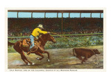 Rodeo Calf-Roping Posters