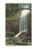Chief Benje Abram's Falls, Near Bristol, Virginia/Tennessee Prints