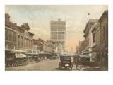 Austin Avenue, Waco, Texas Poster