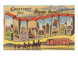 Greetings from Flagstaff, Arizona Prints